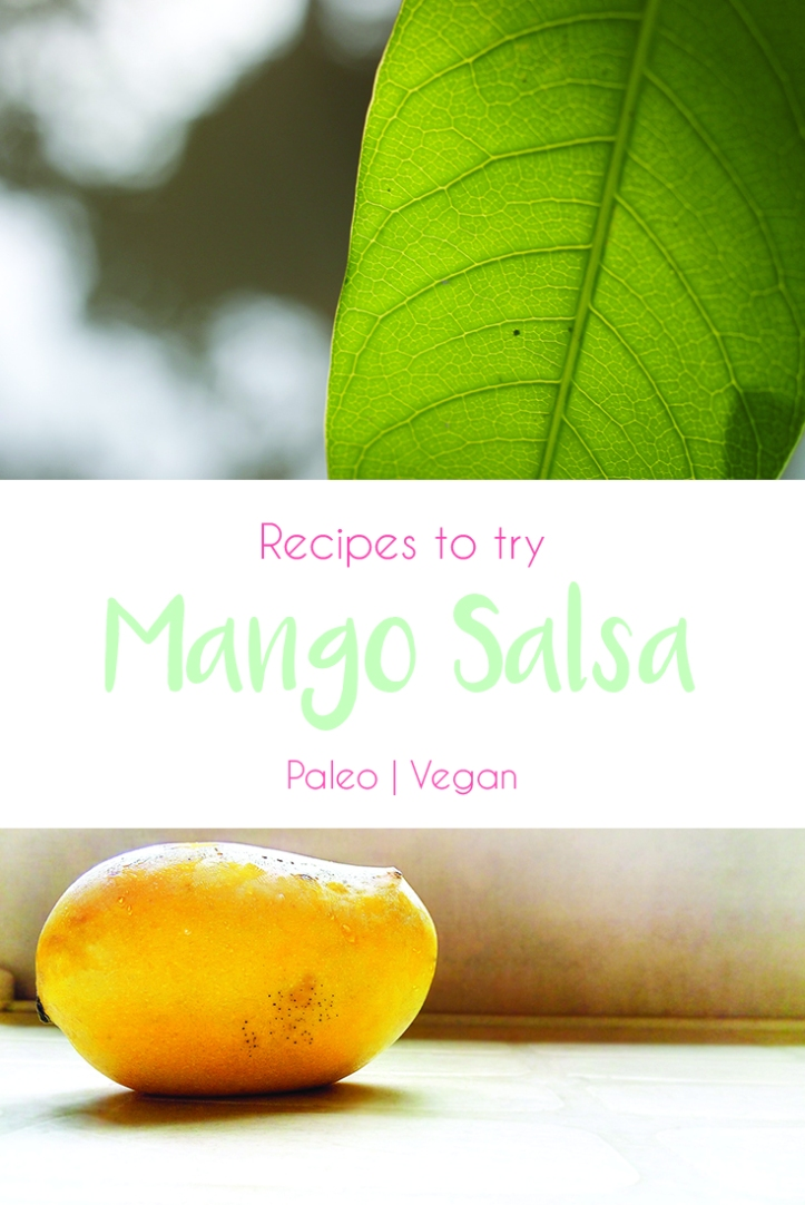 Pintrest Recipe - MangoSalsa